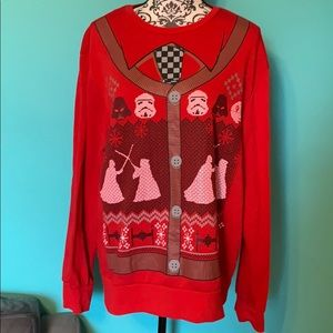 FINAL PRICE Star Wars Ugly Sweater Christmas